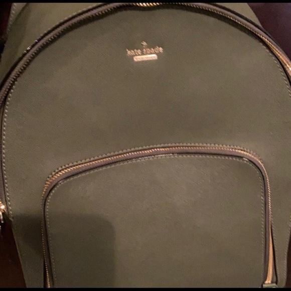 Kate Spade Olive green backpack